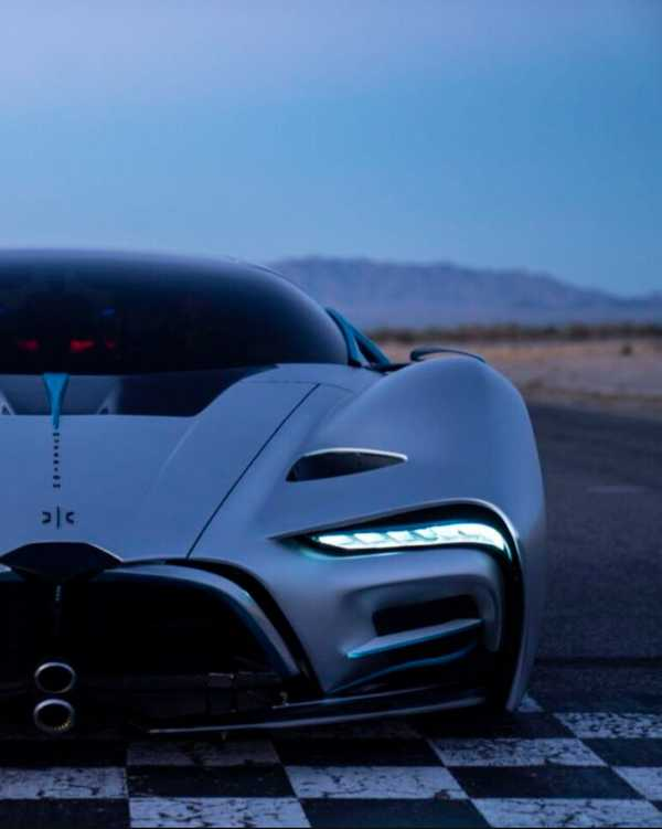 This Beast of a Hydrogen-Powered Hypercar Has a 1,000 Mile Range