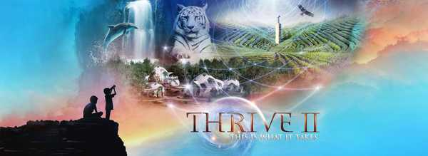 THRIVE II Banner Art - Long