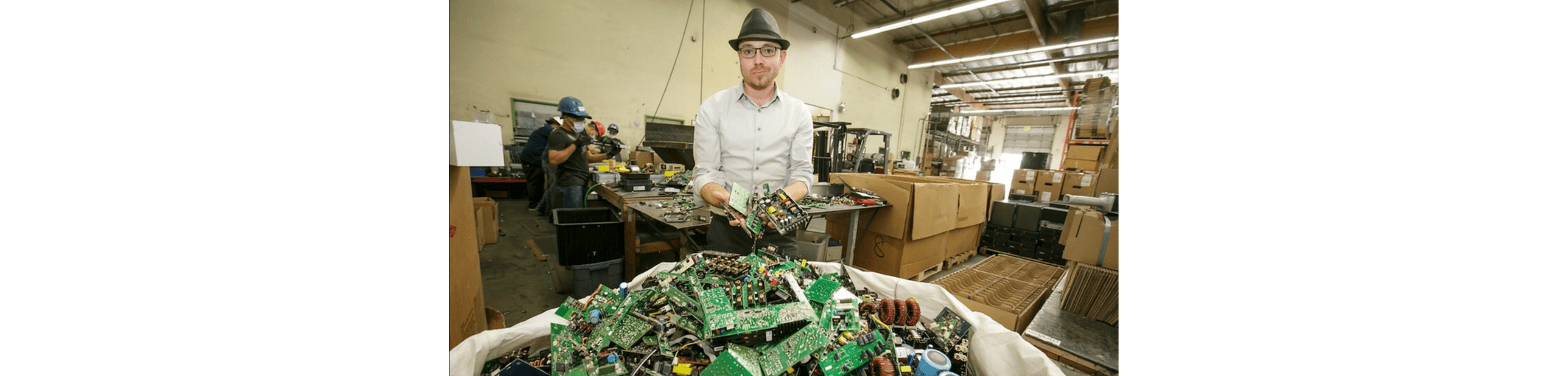 E-Waste Recycler Who Built Electric Car from Recycled Trash Expands Business